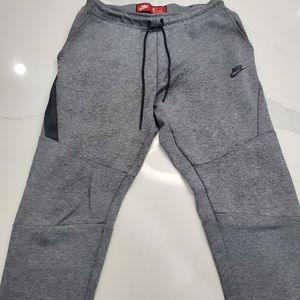 Nike Mens sportswear tech fleece Joggers Grey